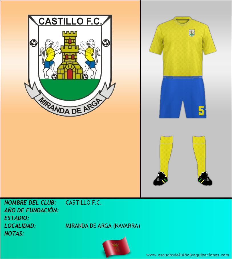 Escudo de CASTILLO F.C.