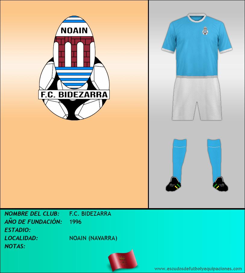 Escudo de F.C. BIDEZARRA
