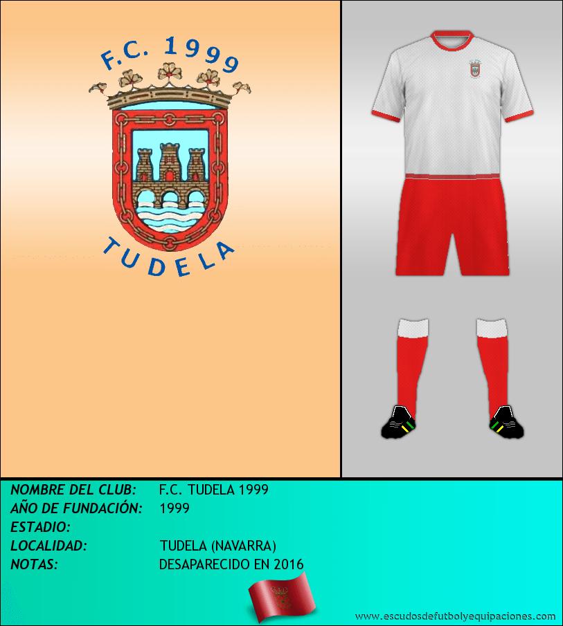 Escudo de F.C. TUDELA 1999