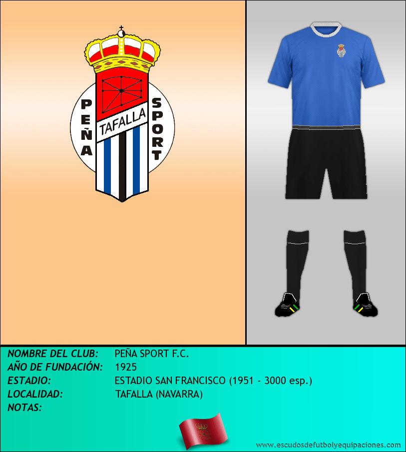 Escudo de PEÑA SPORT F.C.