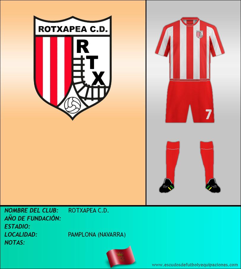 Escudo de ROTXAPEA C.D.