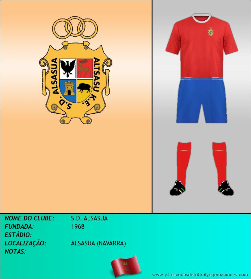 Escudo de S.D. ALSASUA