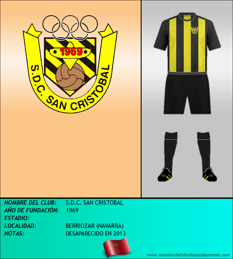 Escudo de S.D.C. SAN CRISTOBAL