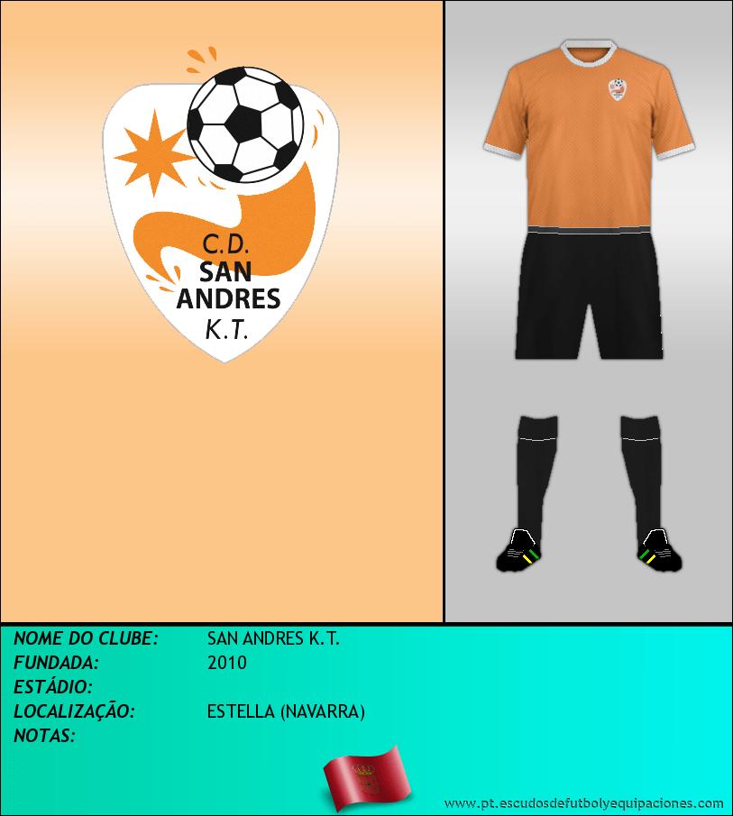 Escudo de SAN ANDRES K.T.