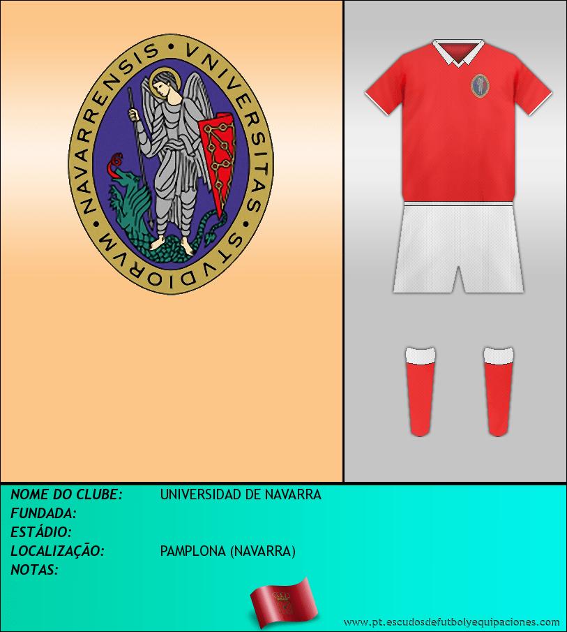 Escudo de UNIVERSIDAD DE NAVARRA