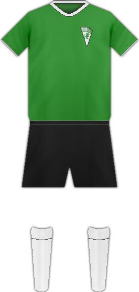 Equipación HONDARRIBIA F.C.