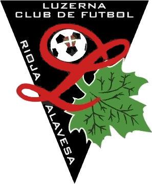 Escudo de C.F. RIOJA ALAVESA LUCERNA (PAÍS VASCO)