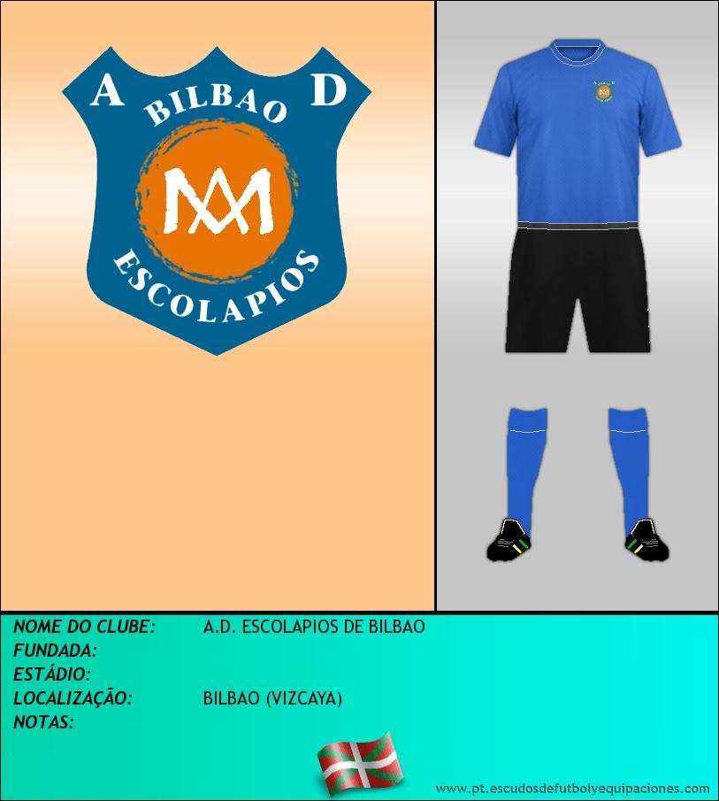 Escudo de A.D. ESCOLAPIOS DE BILBAO