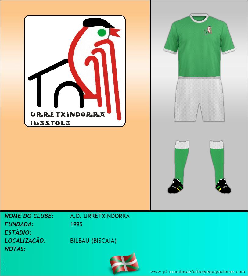 Escudo de A.D. URRETXINDORRA