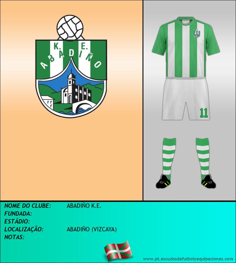 Escudo de ABADIÑO K.E.