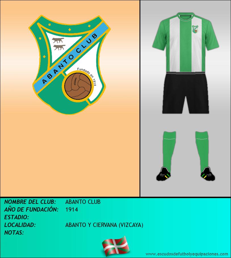 Escudo de ABANTO CLUB