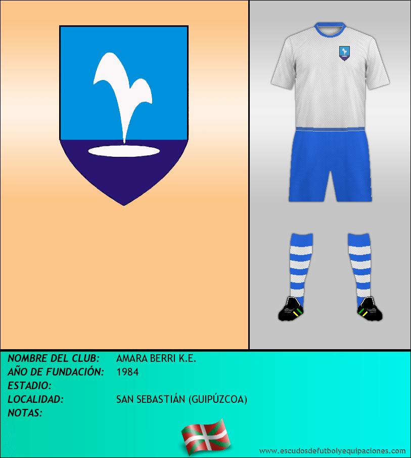 Escudo de AMARA BERRI K.E.