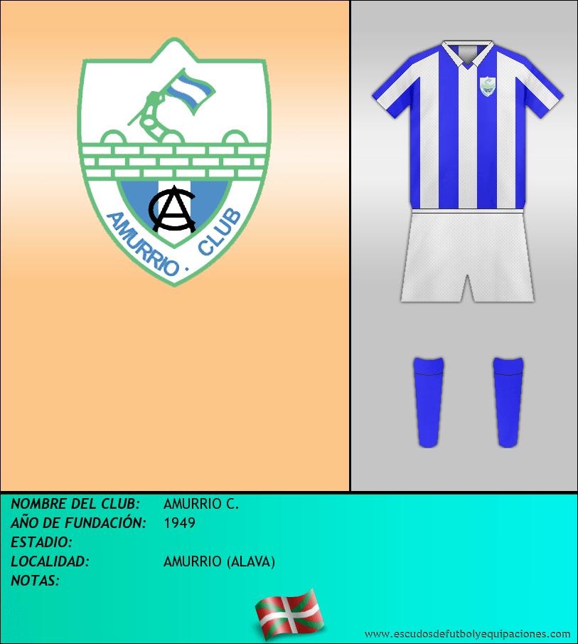 Escudo de AMURRIO C.