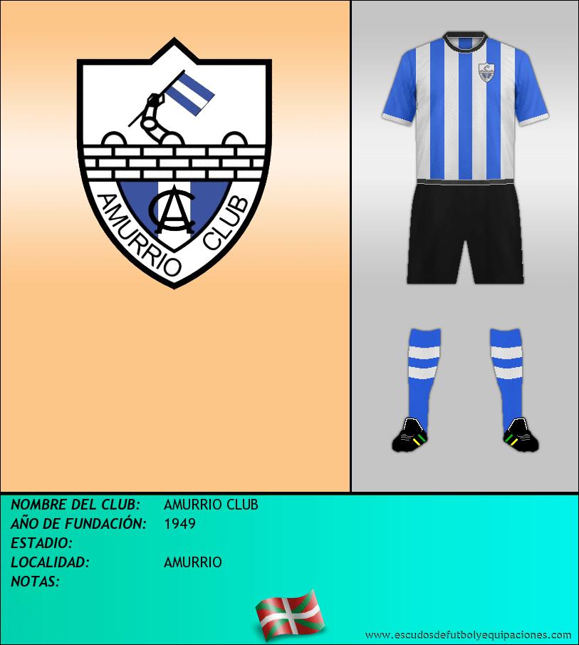 Escudo de AMURRIO CLUB