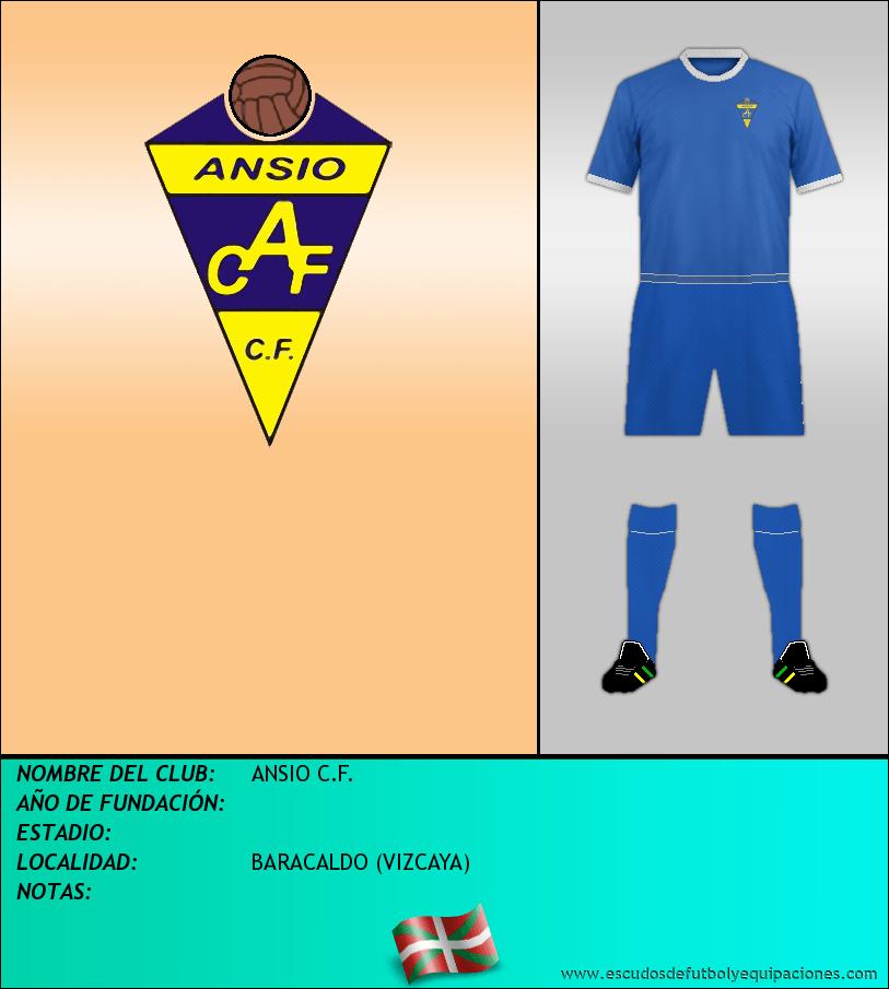 Escudo de ANSIO C.F.