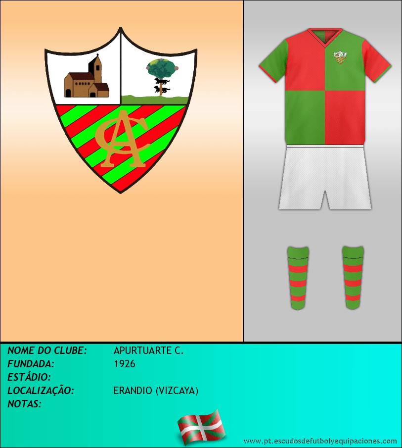 Escudo de APURTUARTE C.