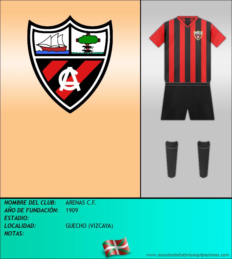 Escudo de ARENAS C.F.