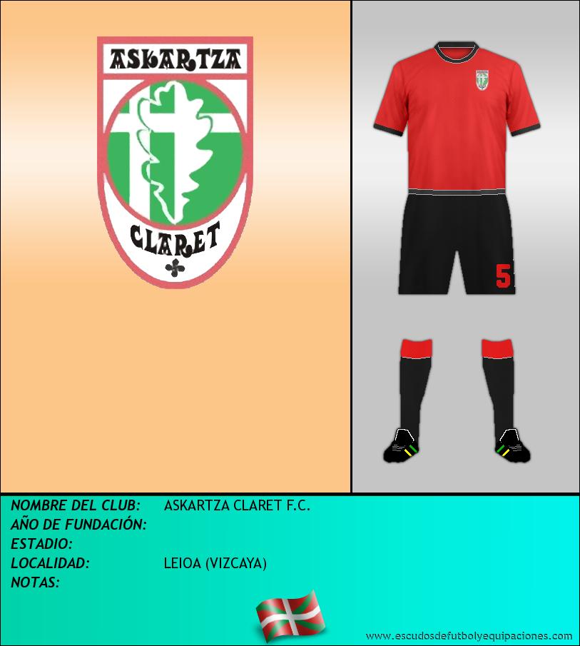 Escudo de ASKARTZA CLARET F.C.