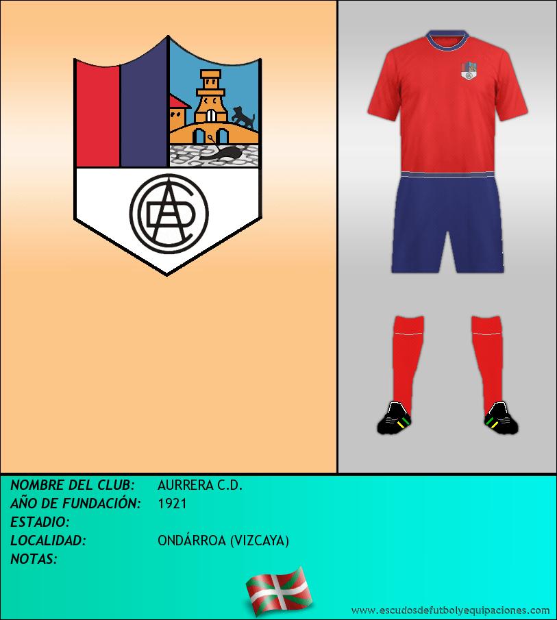 Escudo de AURRERA C.D.