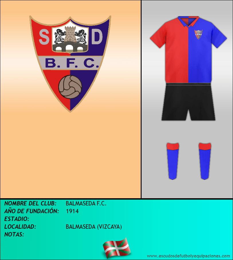 Escudo de BALMASEDA F.C.