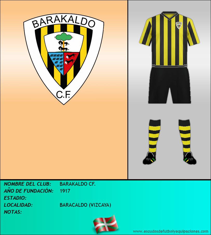 Escudo de BARAKALDO CF.