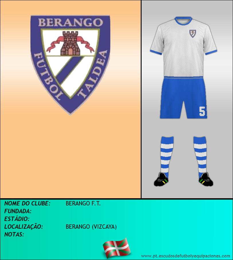 Escudo de BERANGO F.T.