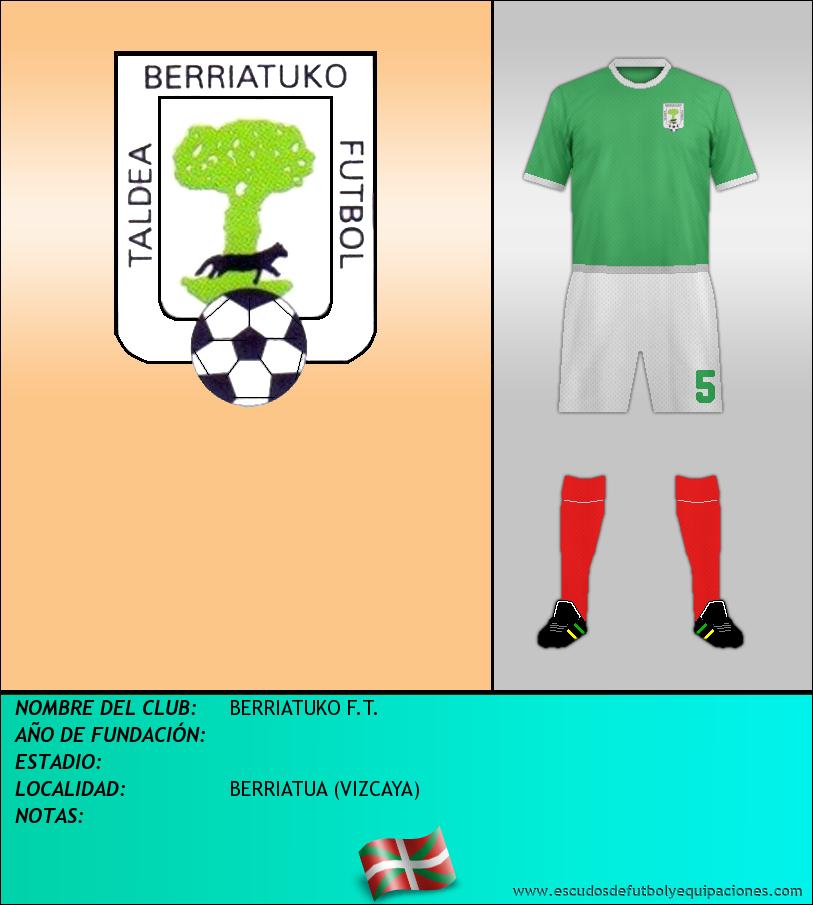 Escudo de BERRIATUKO F.T.