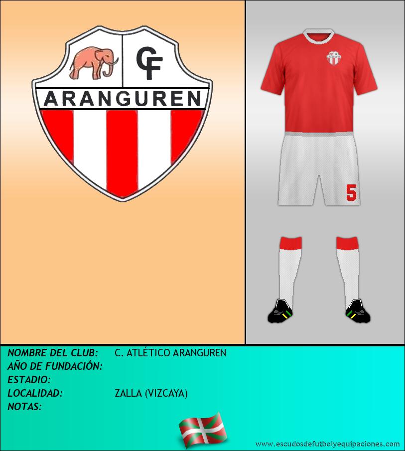 Escudo de C. ATLÉTICO ARANGUREN
