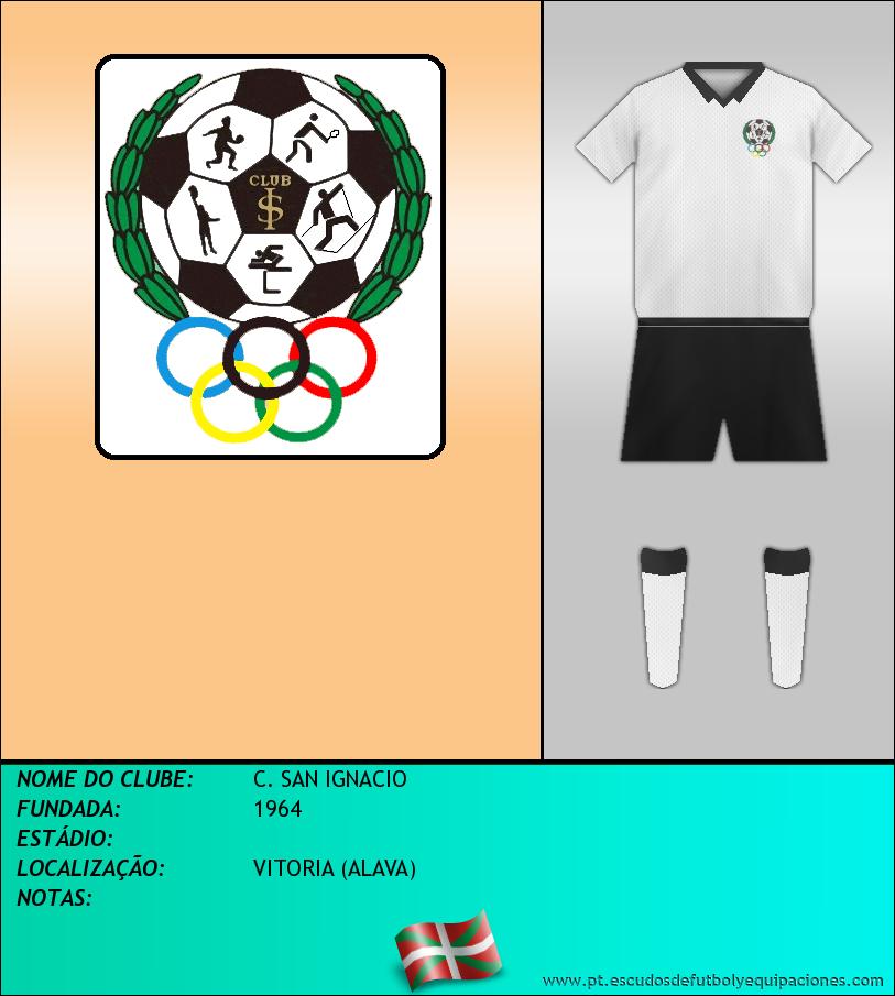 Escudo de C. SAN IGNACIO