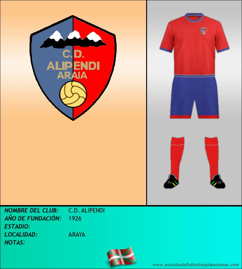 Escudo de C.D. ALIPENDI