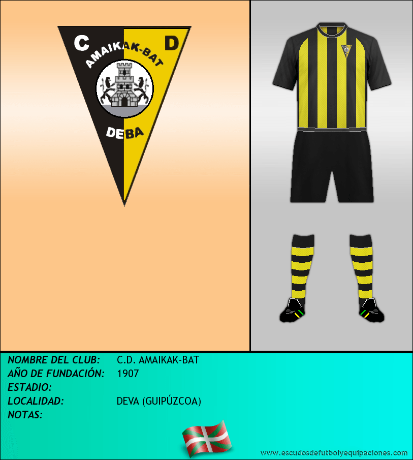 Escudo de C.D. AMAIKAK-BAT