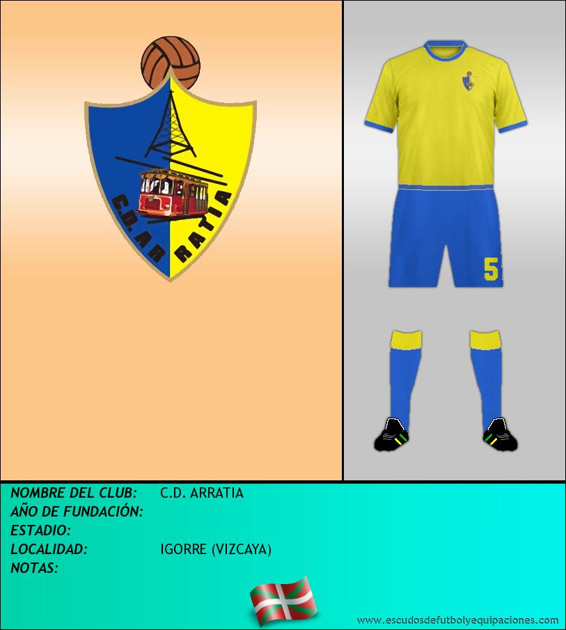 Escudo de C.D. ARRATIA