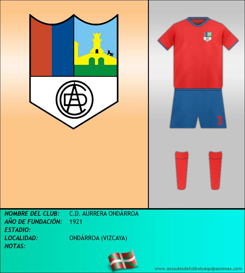 Escudo de C.D. AURRERA ONDÁRROA