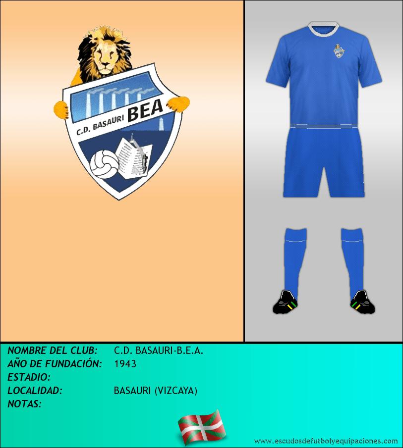 Escudo de C.D. BASAURI-B.E.A.