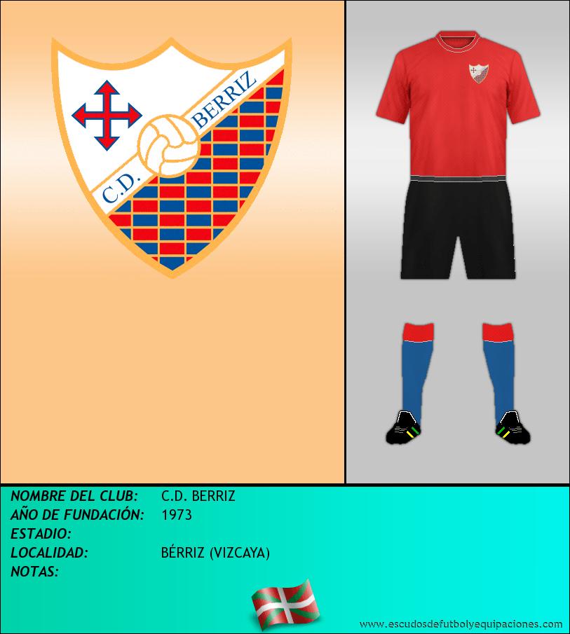 Escudo de C.D. BERRIZ