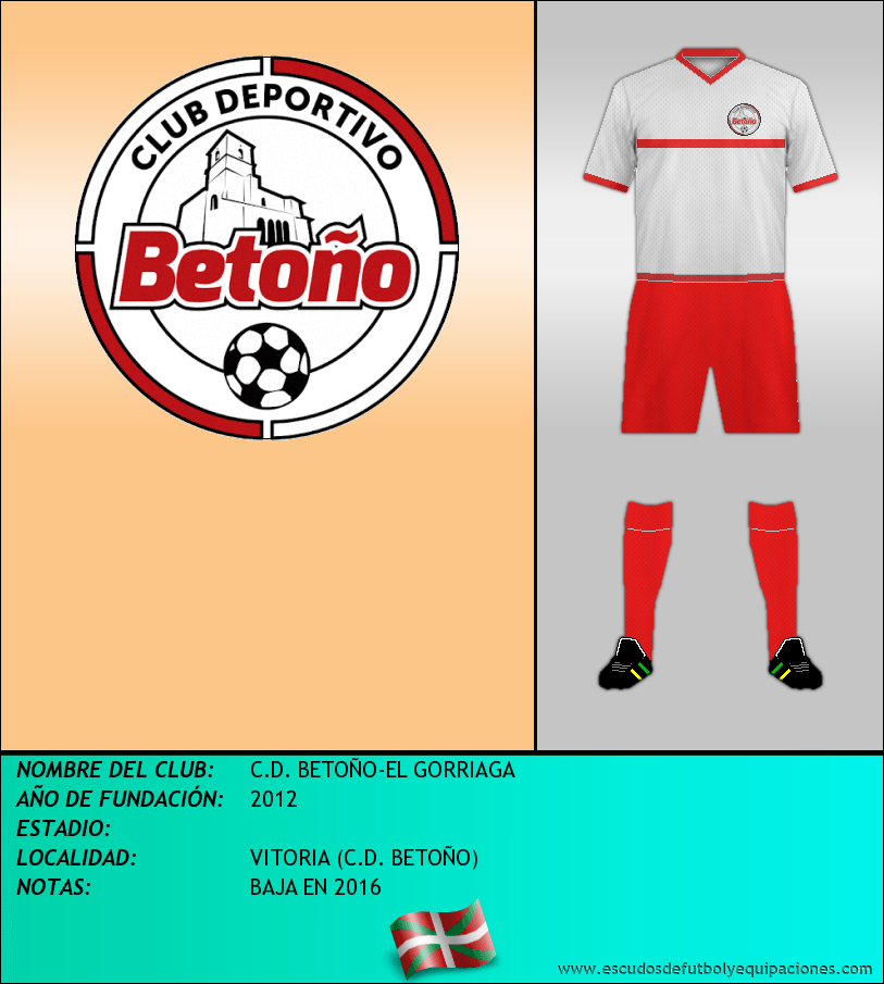 Escudo de C.D. BETOÑO-EL GORRIAGA