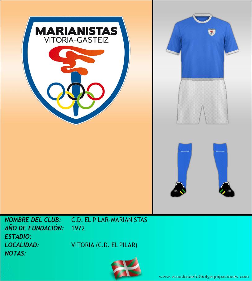 Escudo de C.D. EL PILAR-MARIANISTAS