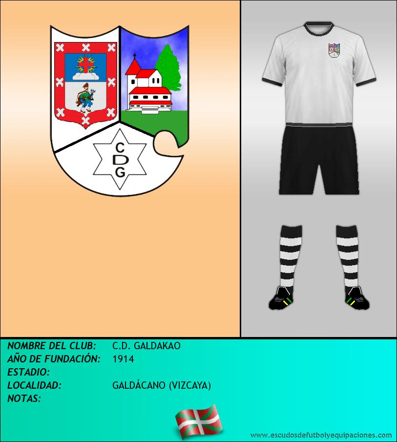 Escudo de C.D. GALDAKAO
