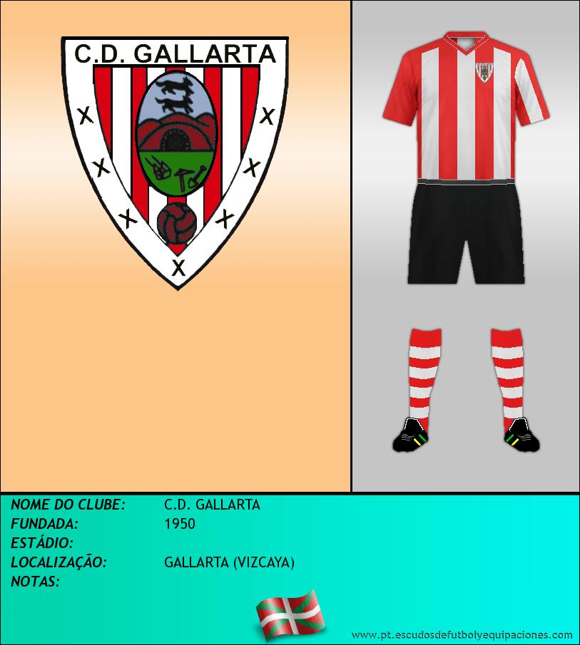Escudo de C.D. GALLARTA
