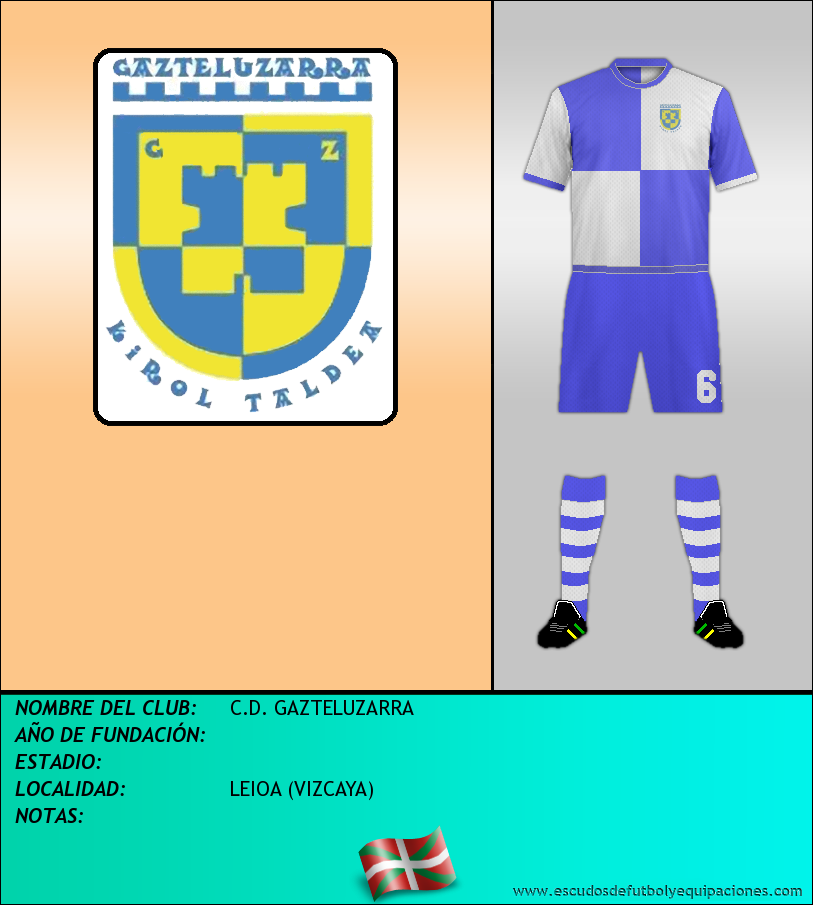 Escudo de C.D. GAZTELUZARRA