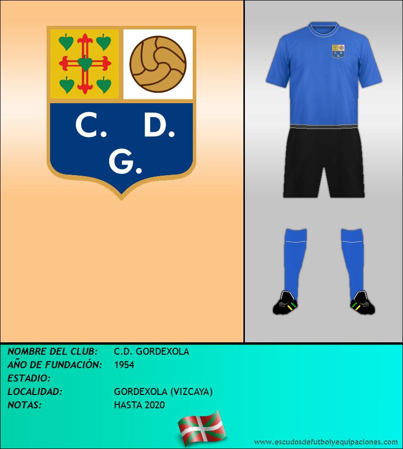 Escudo de C.D. GORDEXOLA