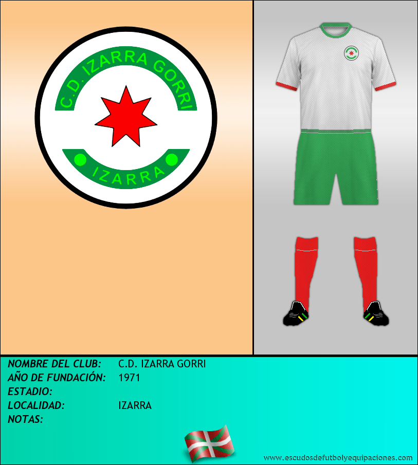 Escudo de C.D. IZARRA GORRI