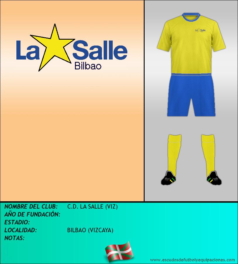 Escudo de C.D. LA SALLE (VIZ)