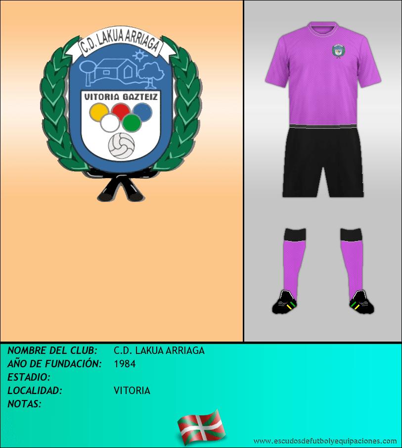 Escudo de C.D. LAKUA ARRIAGA