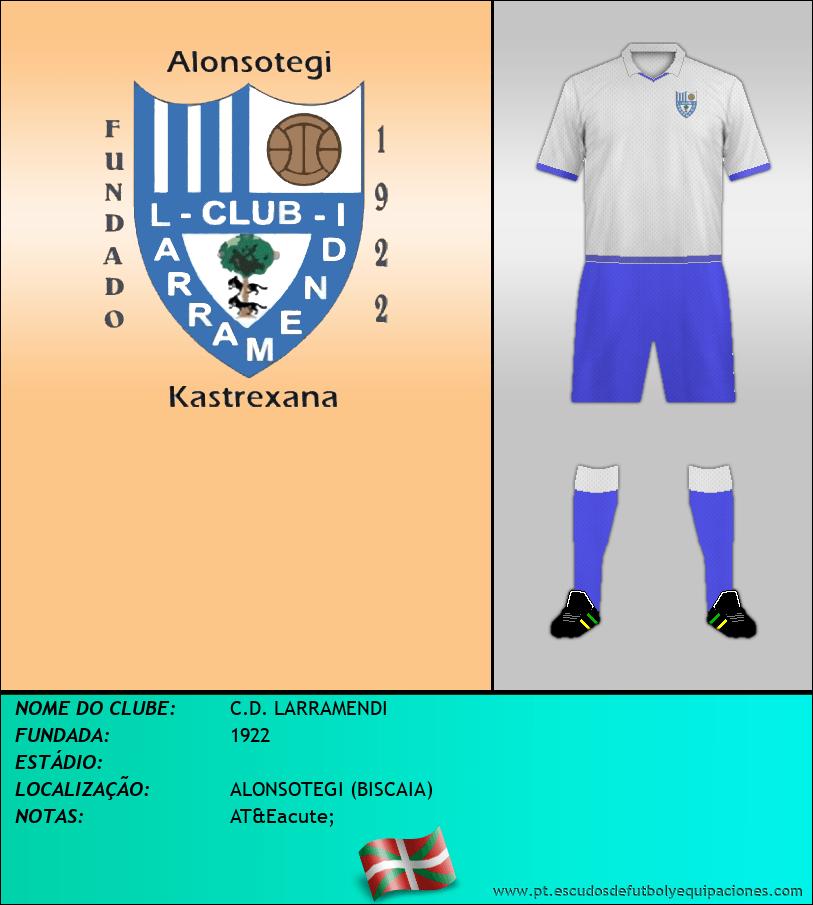 Escudo de C.D. LARRAMENDI
