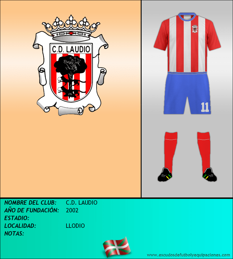 Escudo de C.D. LAUDIO