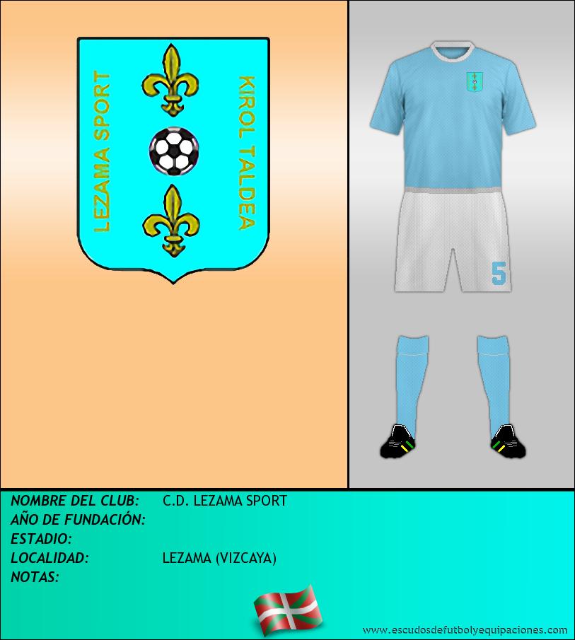 Escudo de C.D. LEZAMA SPORT
