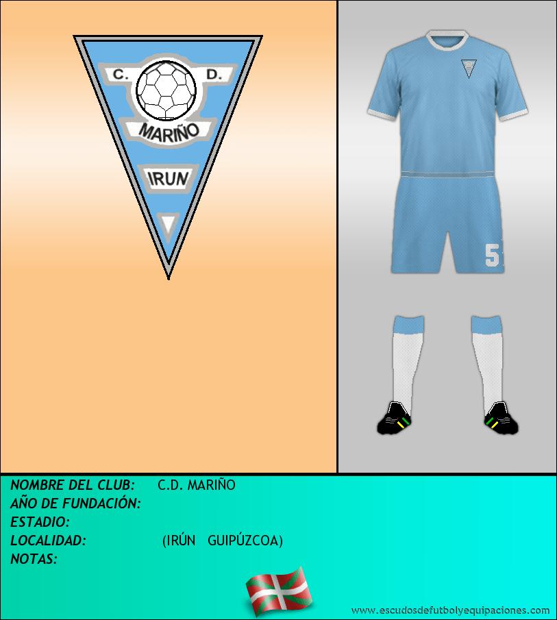 Escudo de C.D. MARIÑO