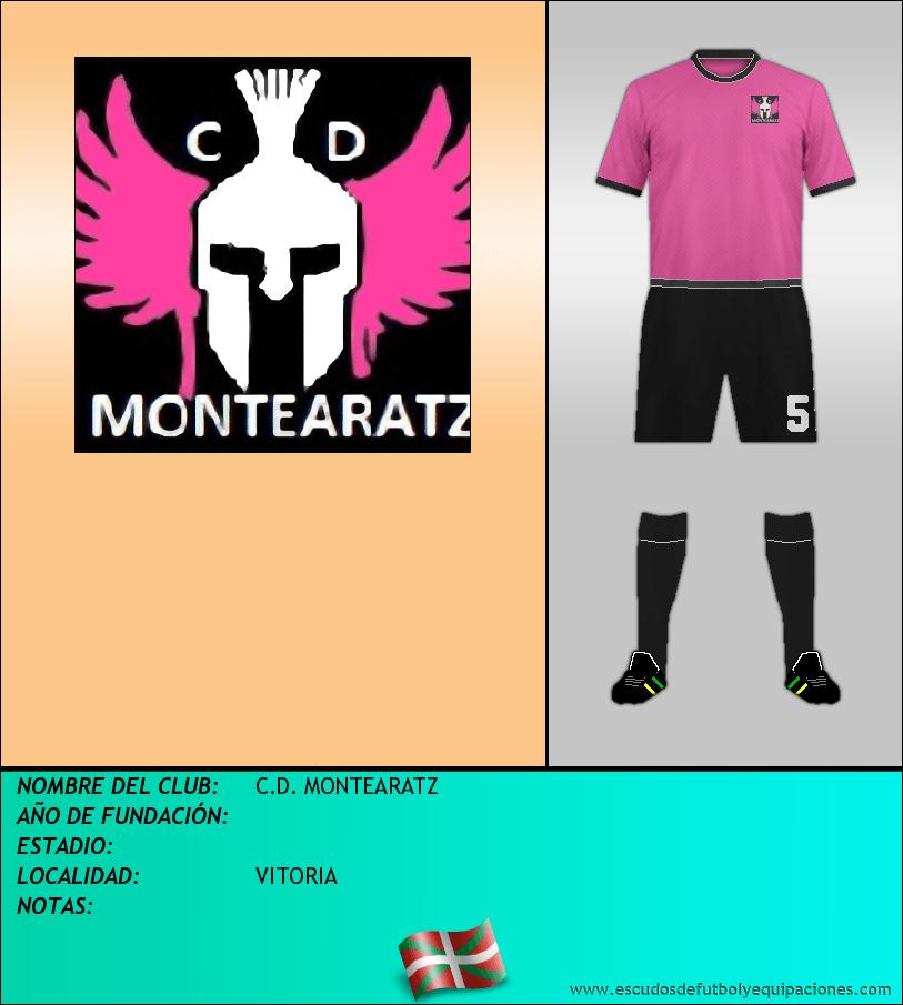 Escudo de C.D. MONTEARATZ