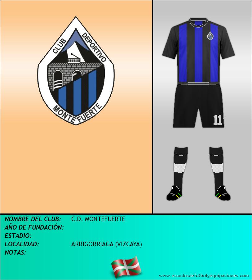 Escudo de C.D. MONTEFUERTE